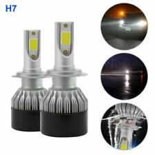2× H7 DOB LED Headlight Conversion1500W 225000LM 6000K Bulb High Power White