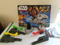 STAR WARS LOOPIN' CHEWIE ACTION GAME .A1