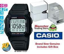 CASIO WATCH VINTAGE RETRO W-800H-1AV W800 W800H 12-MONTH WARRANTY