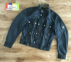 Belstaff RACEMASTER Jacket, waxed cotton, blue, Size L
