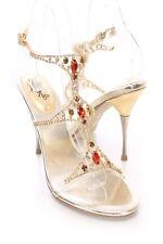 Rhinestones Prom Wedding Dress Heels #Windy-01