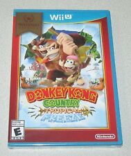 Donkey Kong Country Tropical Freeze for Nintendo Wii U Brand New! Factory Sealed