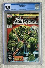 Marvel Toxic Avenger #1, CGC 9.8, White Pages.