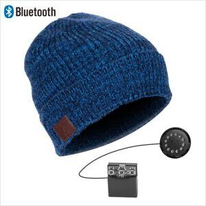 DIGGER - Beanie (eingebaute Stereo Kopfhörer und Mikrofon, Bluetooth, Akku)