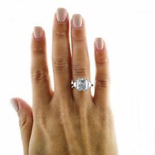 Anillos de joyería con diamantes anillo de compromiso radiantes VS2
