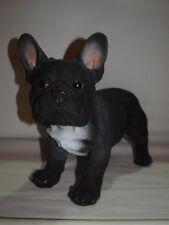 französische Bulldogge Pup lebensecht lebensgroß Figur Bully Dekoration NEUHEIT