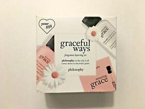 Philosophy Graceful Ways Fragance Layering Set with Box