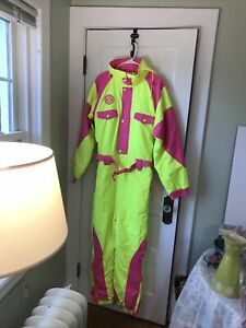 tipsy elves neon snowmobile suit new with tags large