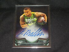DEE MILLINER NFL ROOKIE CERTIFIED AUTHENTIC AUTOGRAPHED SIGNED FOOTBALL CARD
