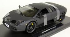 Nex models 1/18 Scale 12517 Lamborghini Murcielago Matt Black diecast Model car
