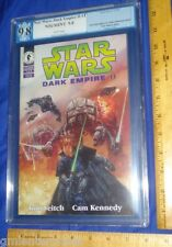 PGX 9.8 Star Wars Dark Empire II #1 (Graded-White Pages/WP)1994 Dark Horse Comic