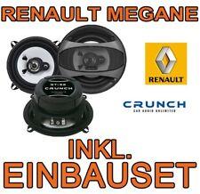 Renault Megane 1 CRUNCH KOAX TÜR BOXEN LAUTSPRECHER EINBAUSET NEU FRONT HECK