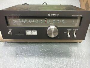 Vintage Trio KT-5300 MKII AM/ FM Tuner - UNTESTED