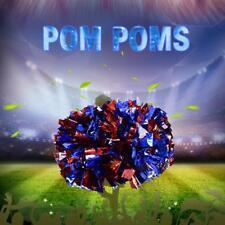2x Pompons Cheerleading Cheerleader Tanzwedel Puschel Pompon Party Sport