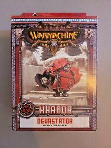 Warmachine - Khador: DEVASTATOR Heavy Warjack Miniature Model - New in Box