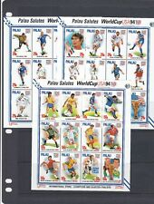 a139 - PALAU - SG780-815 MNH 1994 WORLD CUP FOOTBALL CHAMPIONSHIP - SHEETLETS