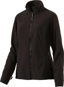 McKinley Damen Fleece Jacke Nelson Lagoon IV Schwarz Black Zip In Intersport