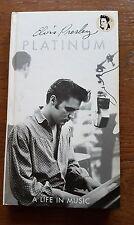 Elvis Presley Platinum  4 CD Longbox