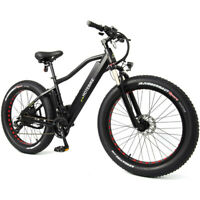 Fat Tire Electric Bicycle Electric Mountain Bike 48V 750W 26 inch HOTEBIKE