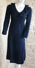 Robe bleue marine neuve taille M marque Terry Lane  100% cachemire (sg)