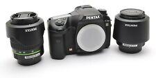 Pentax K20D Spiegelreflex + SMC DA 3,5-5,6 / 18-55 mm AL II + Tele 50-200 ED j46
