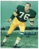 1960's PACKERS Bob Skoronski signed 8x10 photo w/ #76 AUTO Autogaphed Green Bay