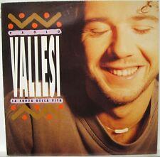 PAOLO VALLESI - LA FORZA DELLA VITA - LP Nuovo Unplayed