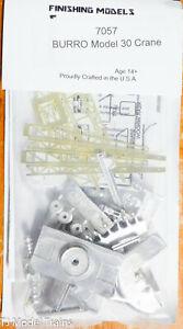 Custom Finishing Models HO #7057 Burro Model 30 Crane (White Metal Kit)