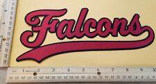 "HUGE ATLANTA FALCONS IRON-ON PATCH - 4.5"" x 10"""
