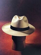 Panama Hat, Hand Woven, Rollable, 100% Toqilla Straw, Extra Large 64 - 65cm
