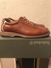 Leather Fashion Shoes Cognac With Stripe Impulse Men sz 11