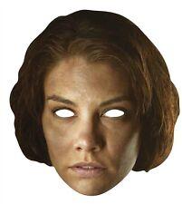 Maggie Greene de The Walking Dead Simple Amusant carte visage fête Masque.