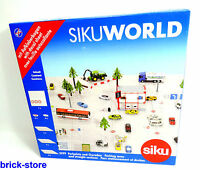 SIKU 5599 / SIKU WORLD / Parkplatz + Geraden mit Aufkleberbogen