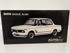 BMW 2002 Turbo charmonix weiß Autoart 70501 1:18 NEU in OVP