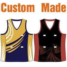 Custom Made Netball Bodysuits Dresses Tops Skirts Singlets