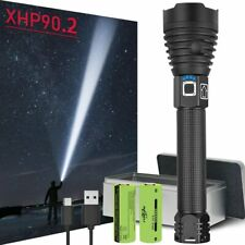 300000 LM XHP90.2 Most Powerful LED Flashlight USB Rechargeable LED Torch XHP90
