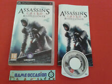 ASSASSIN'S CREED BLOODLINES PSP SONY PLAYSTATION PAL COMPLET