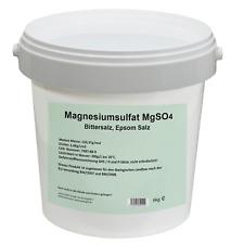 Magnesiumsulfat 6kg - MgSO4, Bittersalz, Epsomsalz