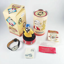 Popeye & Friends Fossil Ltd. Edition Watch w/ Porcelain Brutus Holder, Tin & Box