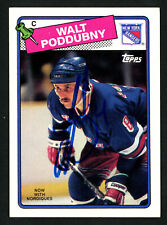 new concept 0ae5d c45d3 Topps New York Rangers 1988-89 Season Hockey Trading Cards ...