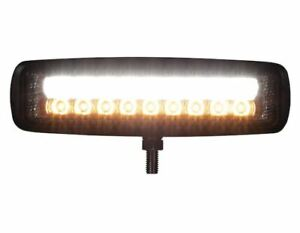 "Buyers Products 1492233. 6.5"" LED Flood Light w/ Strobe- Rectangular Lens"