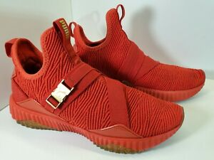 Puma Defy Mid Iced 19394401 Womens Red Mesh Athletic Cross Training Shoes 9.5