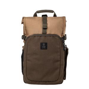 Tenba FULTON 10L BACKPACK (Tan/Olive) > Timeless, vintage style, modern comfort!