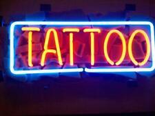"New Tattoo Bar Pub Wall Decor Acrylic Neon Light Sign 17""x10"""