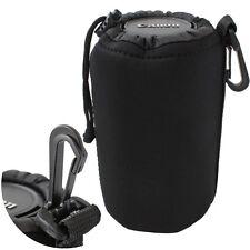 Wambo Neopren Köcher Gr. L schwarz Neopren Objektivköcher Tasche für Objektive