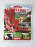 DeAgostini  Miniatur Modellbahn Spur N Nr.81  mit Heft   Neu/OVP
