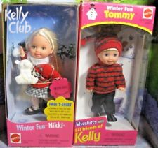 "Mattel Kelly Dolls ~  TOMMY & NIKKI ~~ ""WINTER FUN"" ~~NIB~~"