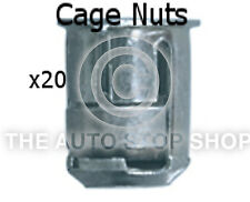 Cage Nut 6MM Drilling 10MM Thickness 1,5-5MM Peugeot 4008/508/807 etc 253pe 20PK