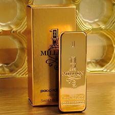 PACO RABANNE 1 MILLION EAU DE TOILETTE 5ml 0.17oz Mini Men Cologne HOMME Perfume