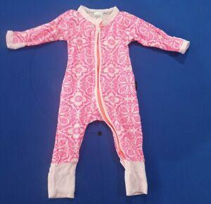 Bonds Baby Girl Marakesh Madness Pink Zip Wondersuit Size 000 rare